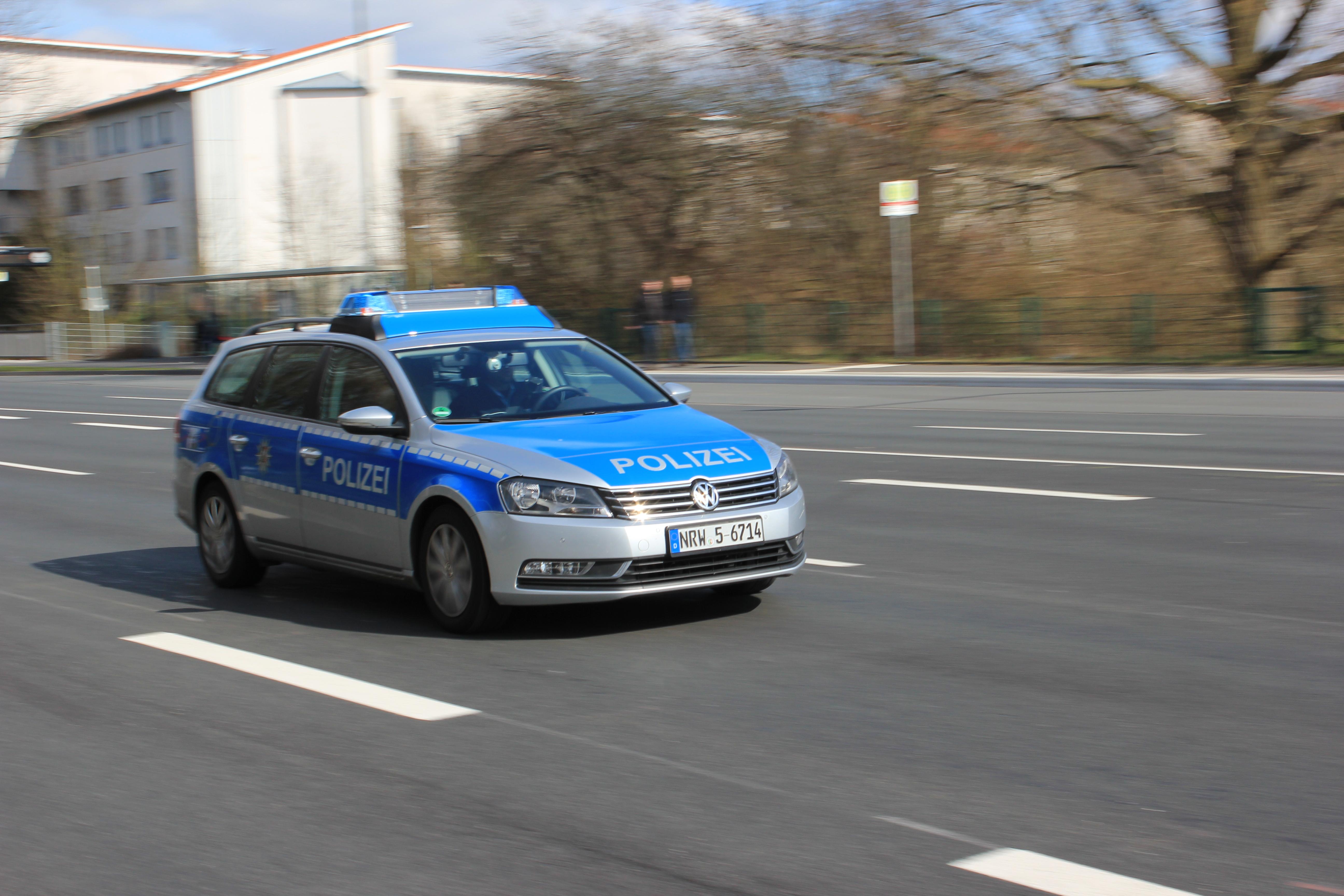 Streifenwagen NRW Foto