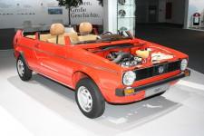 """Unter dem Thema """"Luftigkeit"""" präsentiert Volkswagen den neuen Billig-Golf.  Bild: ampnet"""