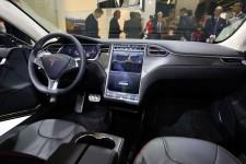 Tesla Model S Cockpit